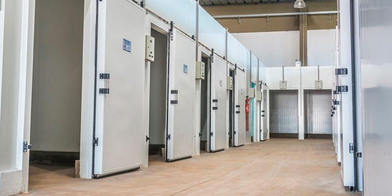 חדרי קירור טרומיים מוכנים לעבודה